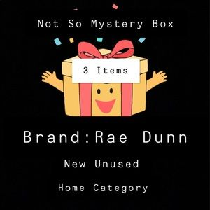 RAE DUNN Not So Mystery Box Home Decor Items